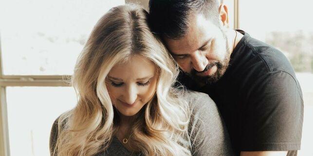 image: Gravid etter sønnens tragiske bortgang