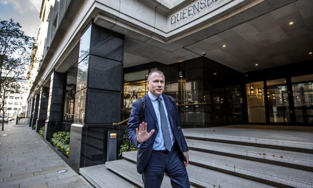 PÅ VEI INN?: Det er vanskelig å forstå hvordan Nicolai Tangen kan tiltre jobben som oljefondsjef slik saken nå står. Foto: Jeff Gilbert/Shutterstock