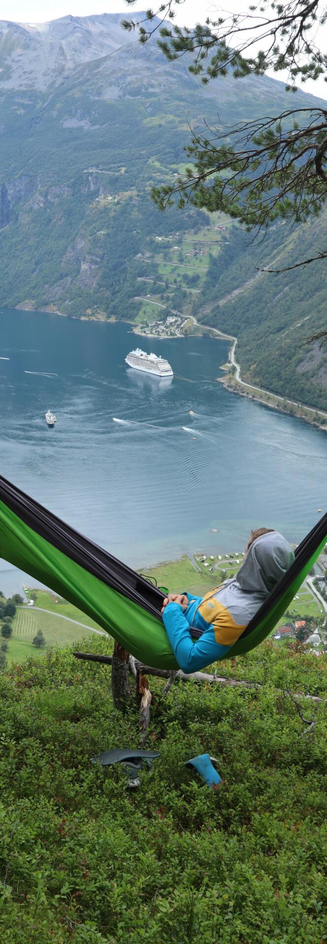 GEIRANGER: Kongen av Vestlandet! FOTO: NTB Scanpix