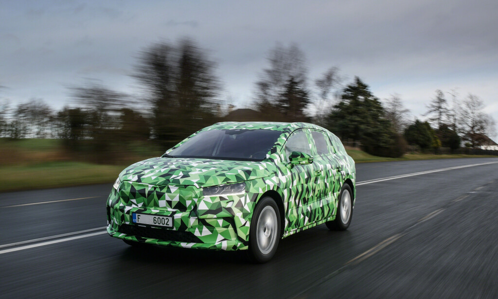 PLATTFORMDELING: Bilen er laget på samme plattform som de nye elbilene til VW, MEB-plattformen. Foto: Ivo Hercik