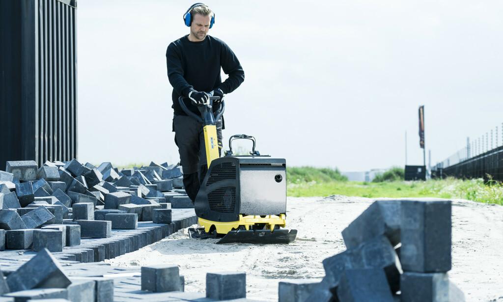 BYGG OG ANLEGG: Det er en rekke firmaer som kan tilby utslippsfrie tjenester, med sin eksisterende maskinpark. Foto: Aspen