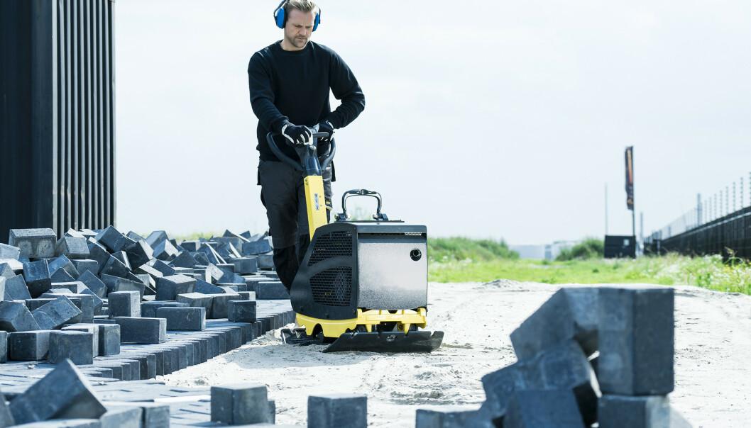 <strong>BYGG OG ANLEGG:</strong> Det er en rekke firmaer som kan tilby utslippsfrie tjenester, med sin eksisterende maskinpark. Foto: Aspen