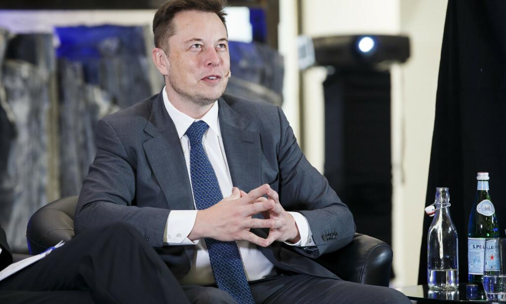 Myndighetene i California kan nekte Elon Musk og Grimes å kalle barnet sitt X Æ A-12, skriver TMZ. Foto: Heiko Junge / NTB scanpix