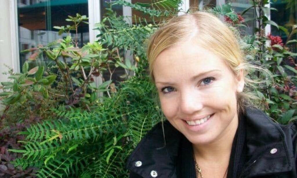 GRAVID: Etter å ha slitt i flere år med å bli gravid, lykkes Lisa Skoglund (37) til slutt. Foto: Privat.