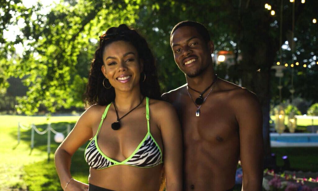 BRUDD: Thammy Dias og Nate Kahungu fra «Love Island» har gått hver til sitt. Foto: TV 2