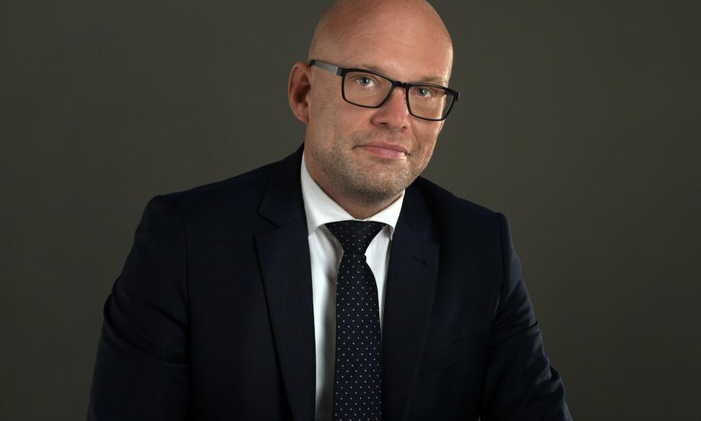 MENNESKELIGE RELASJONER ER FORTSATT VIKTIG: Per Haakon Lomsdalen, visepresident for teknologiselskapet Salesforce Norge.