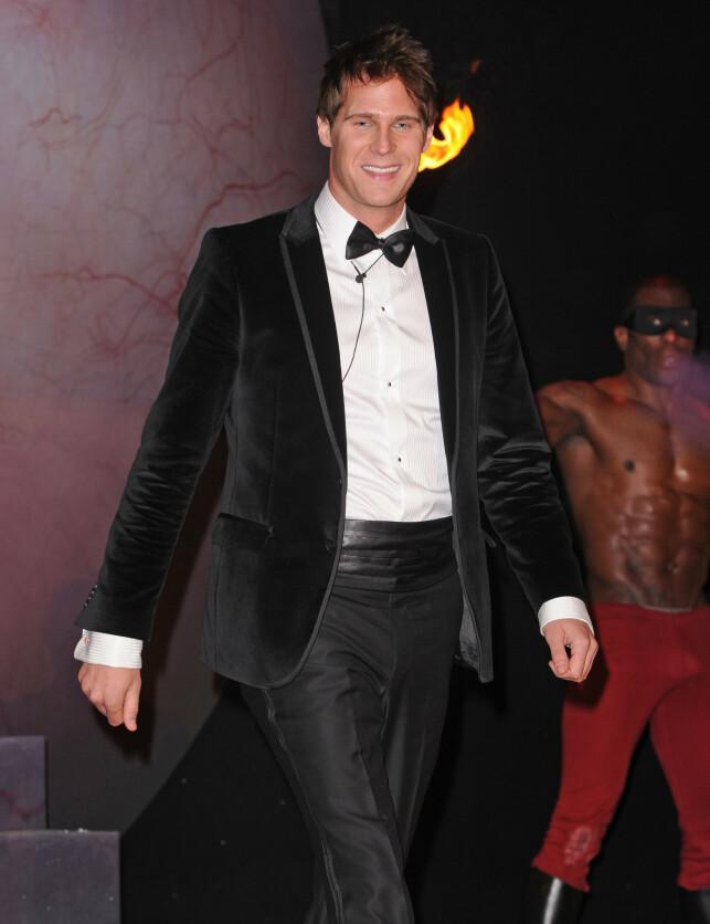 OVERRASKET: Artisten har også vært med i den britiske versjonen av kjendisutgaven til «Big Brother» i 2010, der han havnet på en fjerdeplass. Her avbildet i 2010. Foto: NTB Scanpix