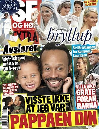 <strong>AVSLØRER:</strong> Boligsalget kommer frem i ukens Se og Hør Extra. Foto: Faksmilie fra Se og Hør