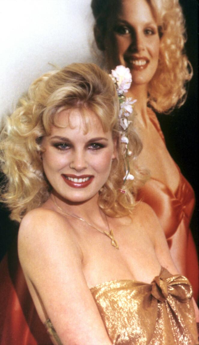 <strong>ÅRETS:</strong> Dorothy Stratten da hun ble kåret til Playmate of the Year i 1980. FOTO: NTB Scanpix