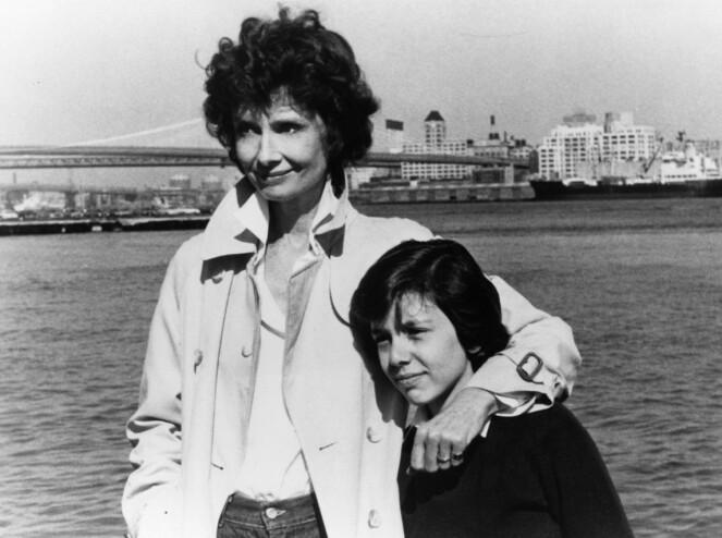 <strong>STJERNESPEKKET:</strong> Dorothys første storfilm var sammen med Audrey Hepburn i «They All Laughed», regissert av Peter Bogdanovich i 1981. FOTO: NTB Scanpix