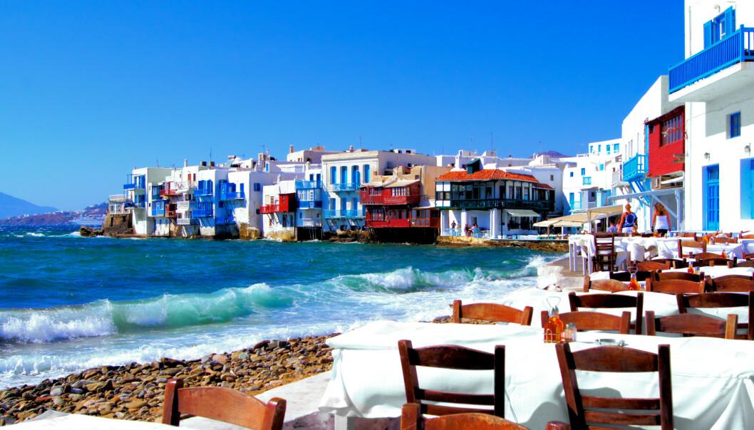 <strong>VIL ÅPNE FOR TURISTER:</strong> Hellas håper å kunne ønske turister velkomne fra 1. juli, men forsikringsselskap advarer fordi reiseforsikringen ikke gjelder dersom UDs reiseråd fortsatt står: - Kan bli sittende med milliongjeld i etterkant, advarer Europeiske Reiseforsikring. Foto: Shutterstock/NTB scanpix