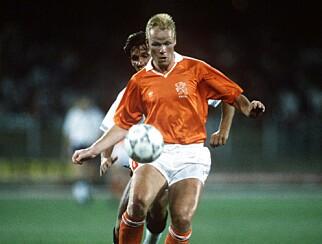 VM-DUELL: Ronald Koeman i duell med Englands Gary Lineker under VM i 1990. Foto: NTB scanpix