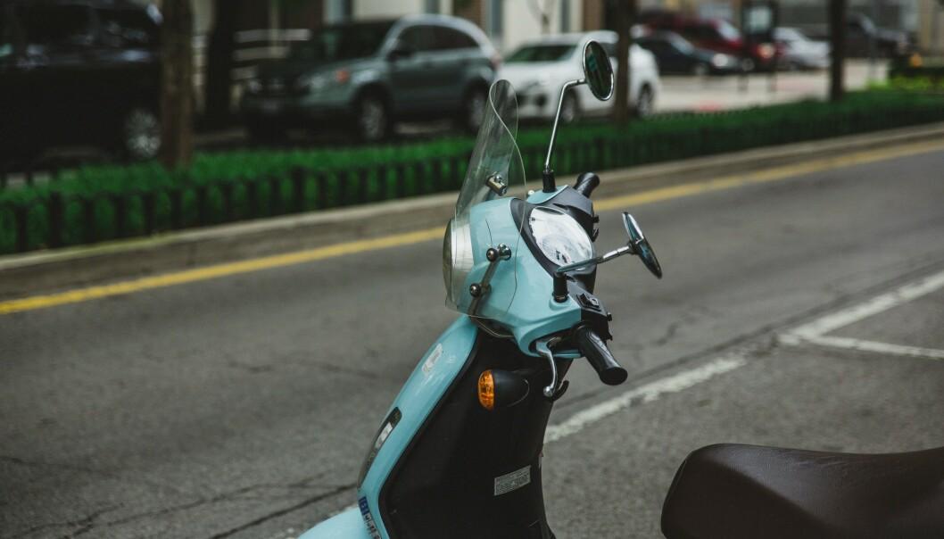 Drømmen for mange er en ekte italiensk scooter.