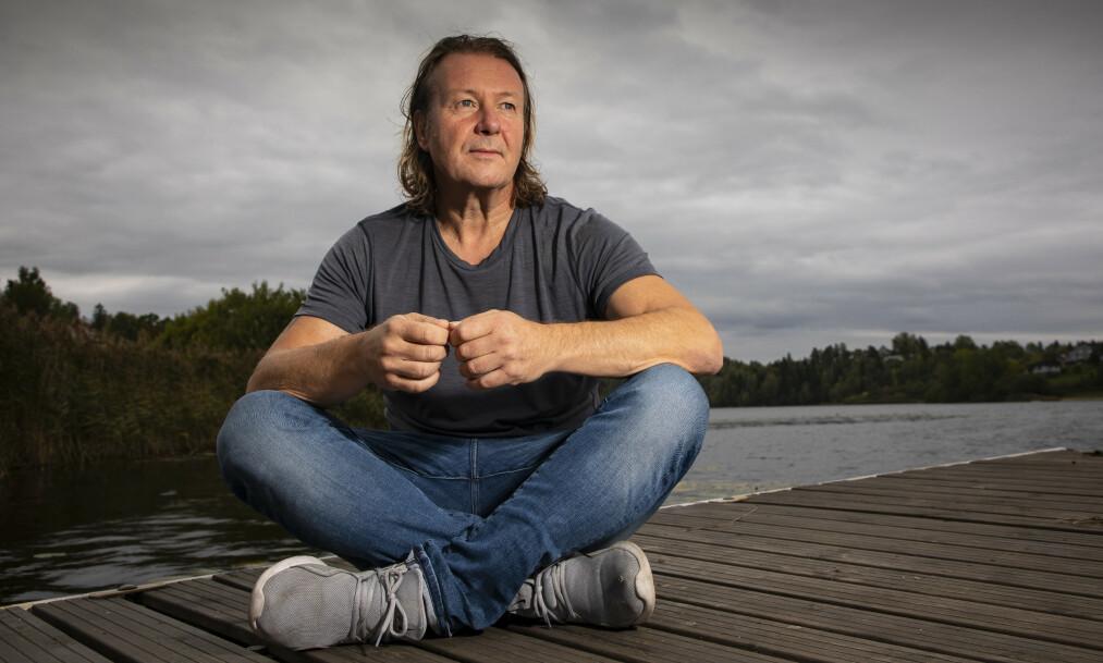 <strong>ÆRLIG:</strong> Svein Østvik har deltatt på en rekke TV-programmer, og blitt en populær figur for det norske TV-publikummet. Nå forteller han om livets mørke sider i et nytt intervju med Dagbladet Magasinet. Foto: Tor Lindseth / Se og Hør