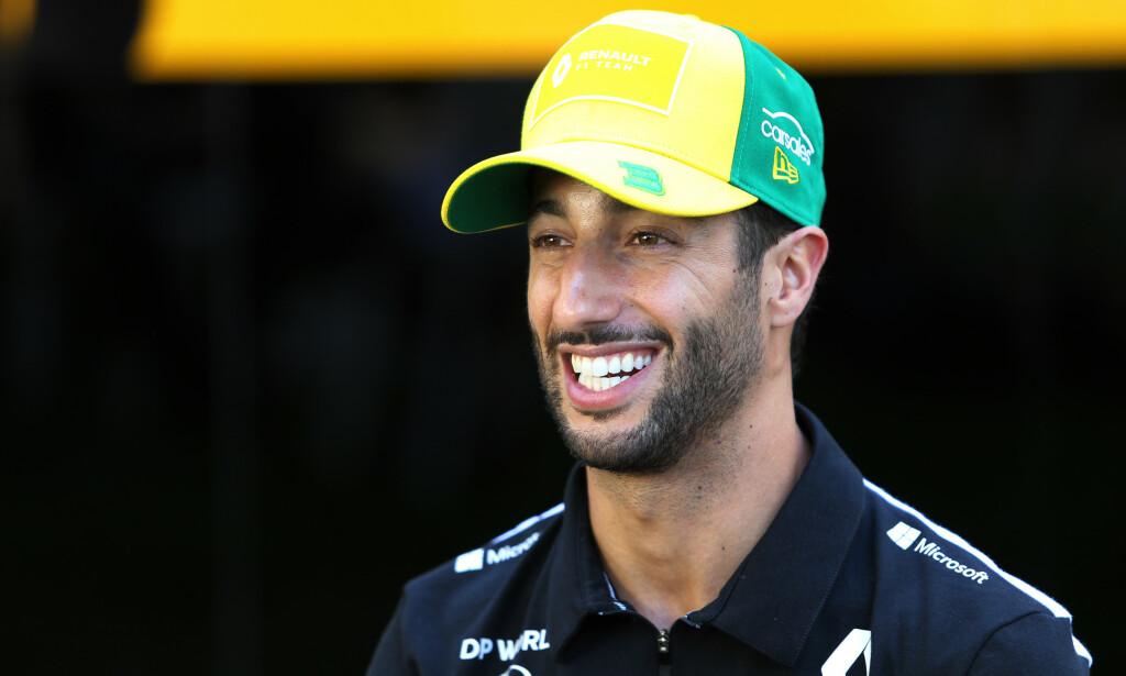 BEKYMRET: Formel 1-stjernen, Daniel Ricciardo, forventer at det vil bli kaos når Formel 1-sesongen kommer i gang i begynnelsen av juli. Foto: James Moy/Pa Photos