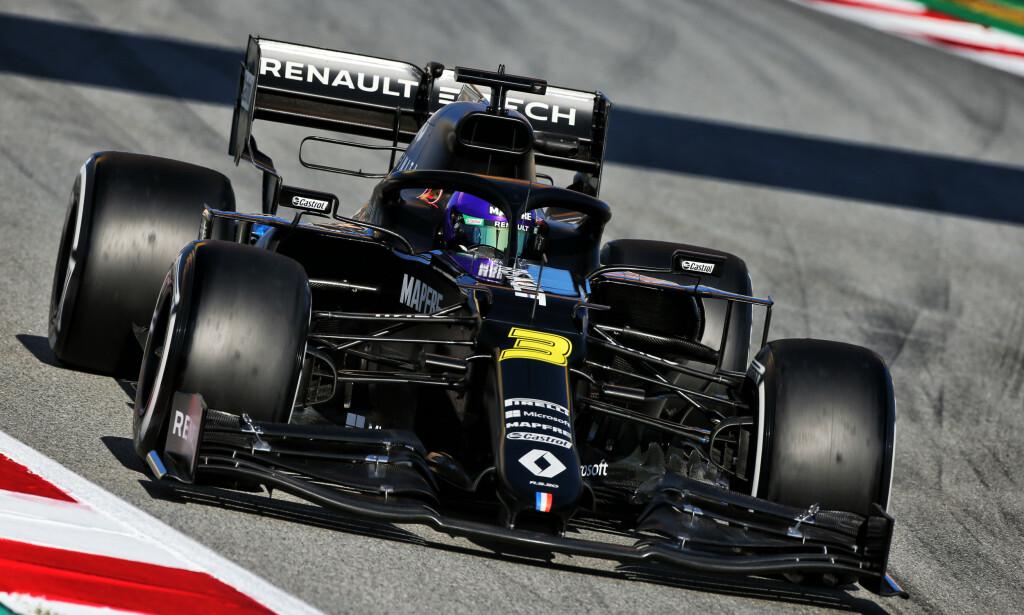 UTSATT: Daniel Ricciardo og de andre Formel 1-stjernene fikk fullført forsesongen før coronaviruset satte en stopper for sesongen. Foto: James Moy/Pa Photos
