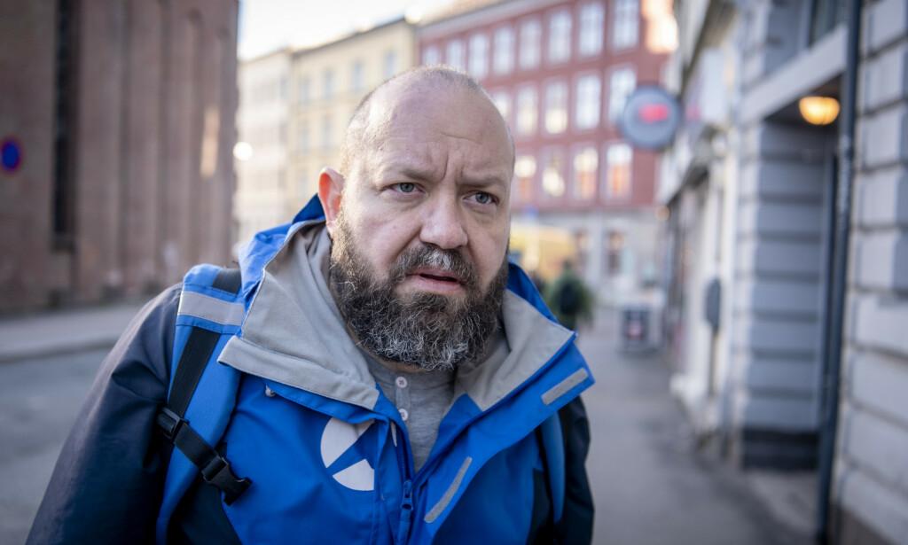 - EKSTREMT PRISNIVÅ: Miljøarbeider og skribent Even Skyrud i =Oslo sier cannabistørken fører til mer vold og aggressivitet blant amfetaminmisbrukere som må ty til beroligende medisiner for å få sove. Foto: Lars Eivind Bones