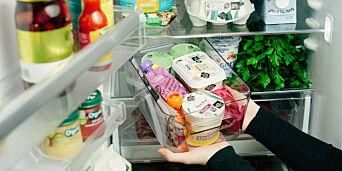 image: Slik bør du oppbevare maten i kjøleskapet