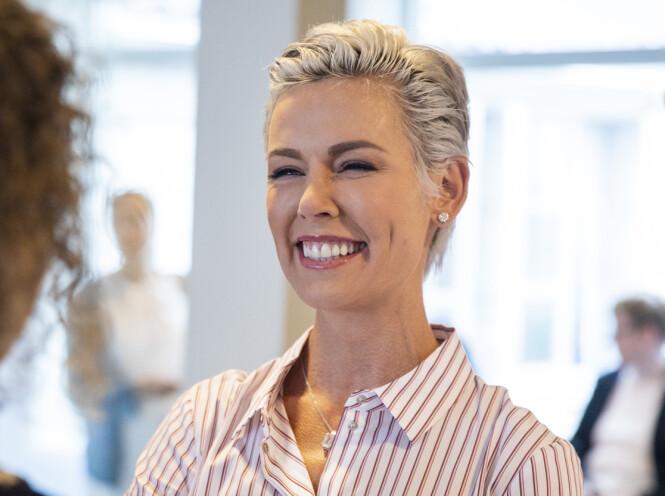 TRIVES: I intervjuet med Hjemmet kunne Gunhild Stordalen meddele at hun våkner opp lykkelig hver dag. Foto: Tore Meek / NTB scanpix
