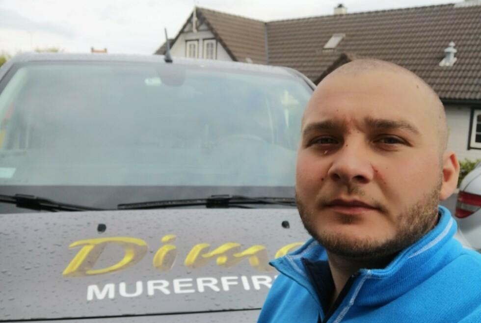 TIL RETTEN: 27-årige Cosmin Andrei Brasovean jobbet i et murer-firma i Haugesund, men i september i fjor, ble han bortvist fra Norge i to år. Foto: Privat