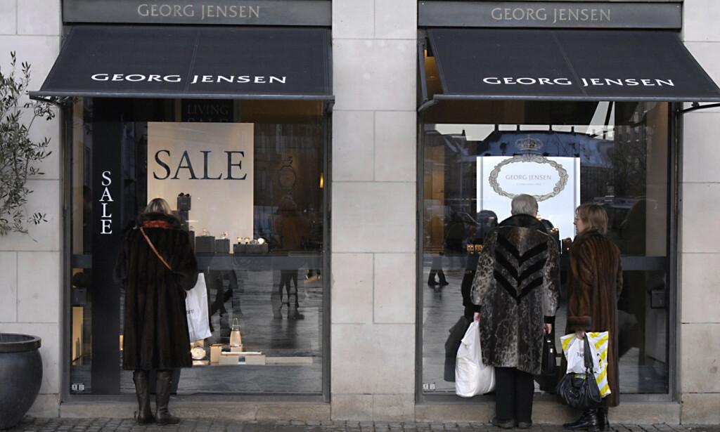 DESIGNIKON: Georg jensen ble igjen rammet av underskudd i 2019. Coronakrisen kom på verst tenkelig tidspunkt for den danske virksomheten. Foto: NTB Scanpix