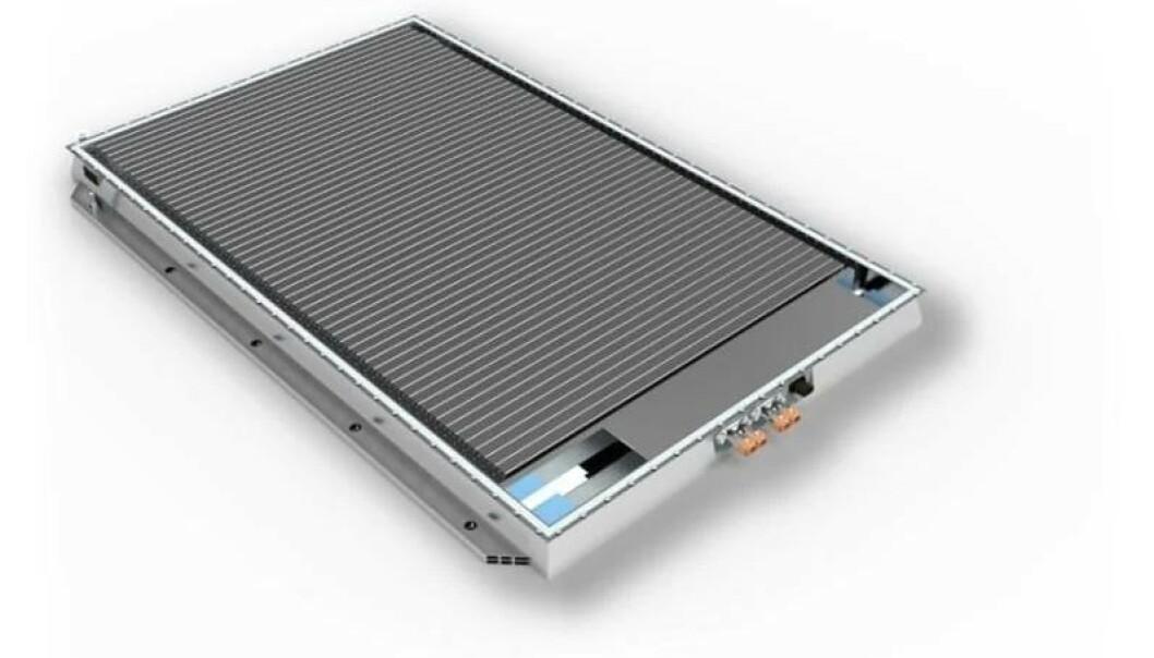 Batteriet fra BYD kalles Blade og skal ha vekket interessen til flere aktører i bilbransjen. Foto: BYD.
