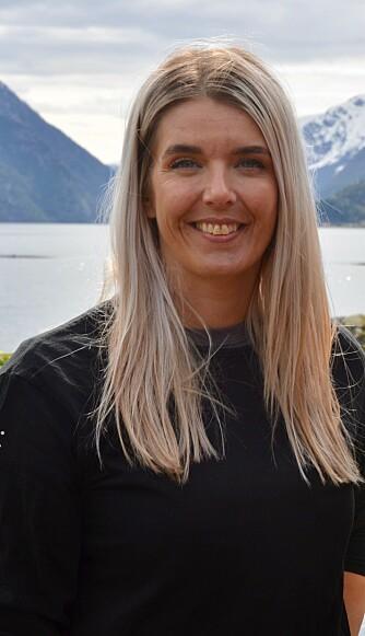 Da Jeanette fikk høre at amerikaneren fikk tatovert ansiktet hennes på armen, fikk hun panikk. FOTO: Heidi Løland-Andersen