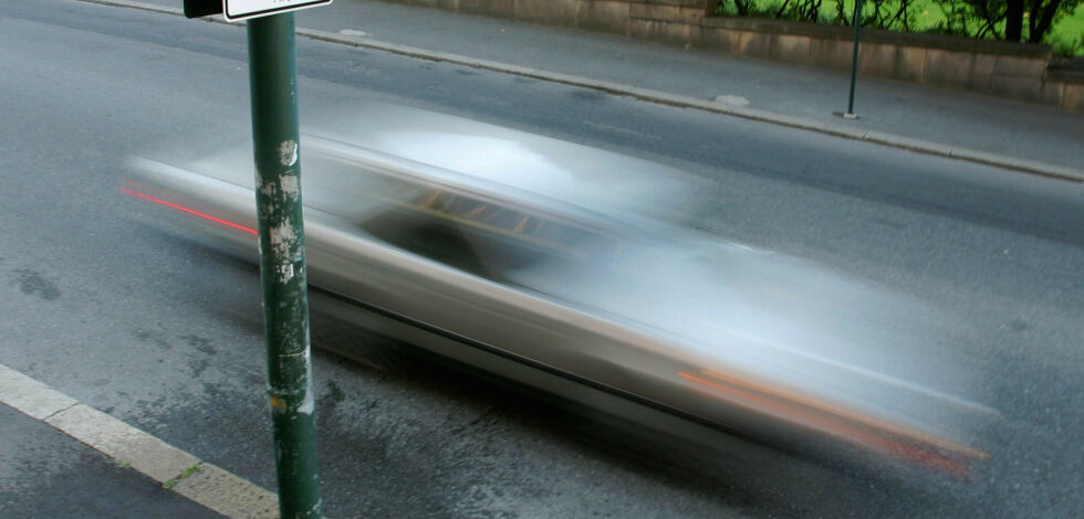 image: Nær halvparten bryter fartsgrensa