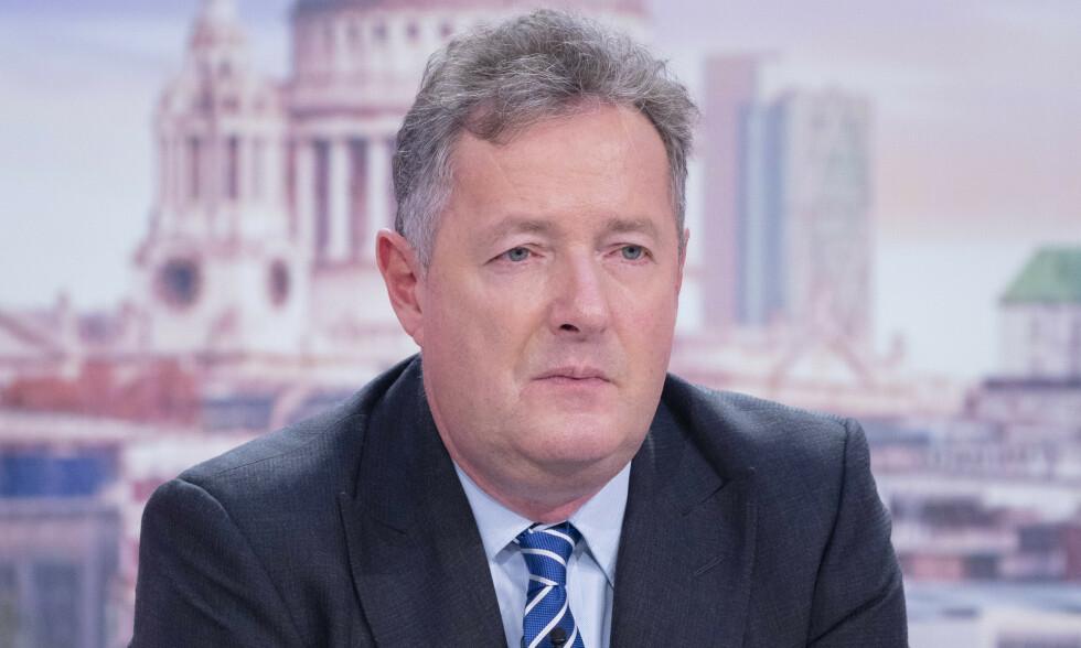 PROVOSERER: Den britiske programlederen Piers Morgan (55) har i flere år provosert med sine frittalende uttalelser på tv. Foto: NTB scanpix