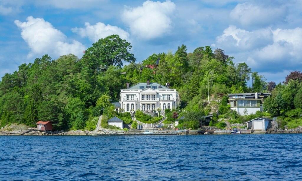 SKJERMET: Huset består av seks soverom, der flere har utsikt over fjorden. Foto: Bjørn Tore Økland