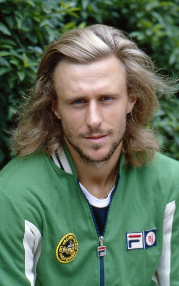UNGPIKEIDOL: Bjørn Borg fotografert i forbindelse med Wimbledon i 1979. Foto: REX