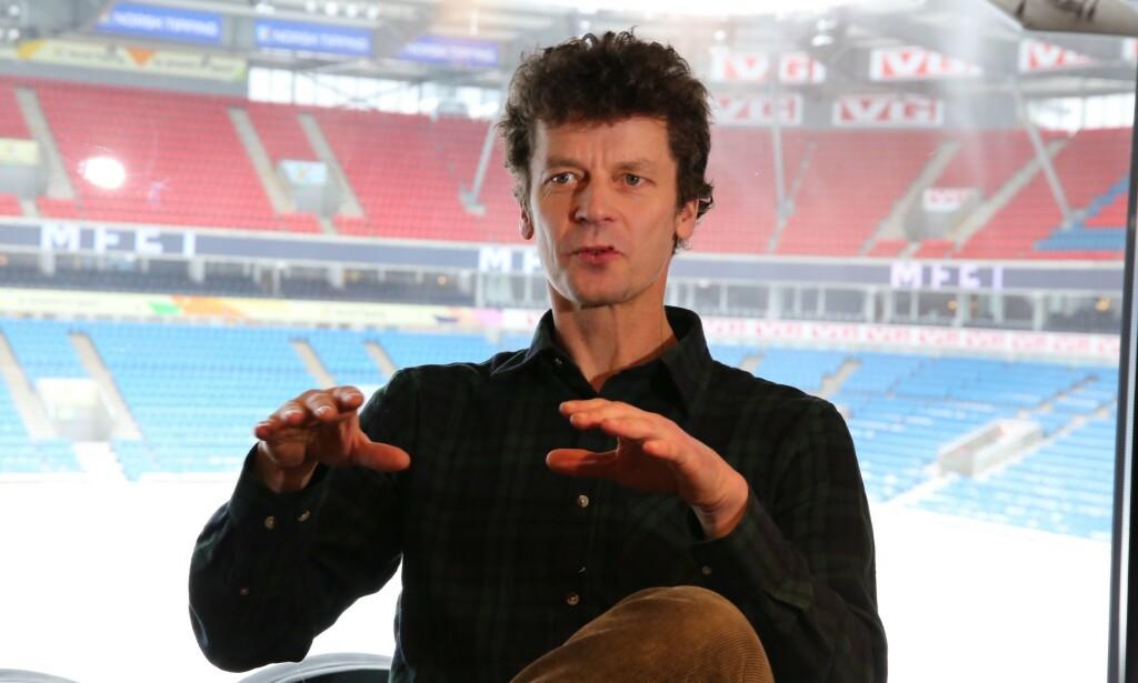 GAMMEL HJEMMEBANE: Dan Eggen spilte mange landskamper på Ullevaal Stadion, og hadde også kontor der mens han jobbet i Norges Fotballforbund. Foto: NTB Scanpix