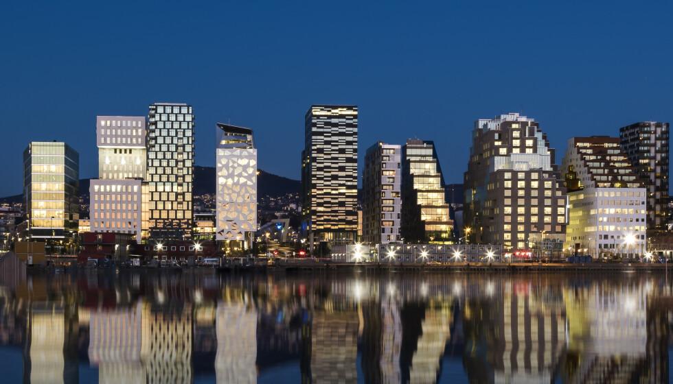 <strong>STORBY I NORGE:</strong> Vårt langstrakte land har så uendelig mye å by på, at det bare er fantasien som kan sette en stopper for alt vi kan oppleve. Her fra Barcode i hovedstaden Oslo. FOTO: NTB scanpix