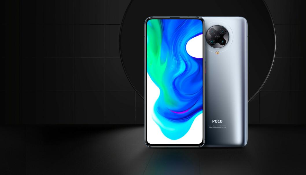 <strong>HALV PRIS:</strong> Der flere toppmodeller koster over 10.000 kroner, skal Xiaomi/Poco bare ha 499 euro for Poco F2 Pro. Foto: Poco