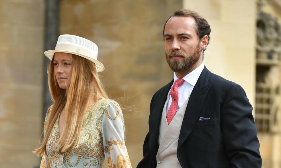 TOK SKJEGGET: James Middleton har gjort drastiske endringer med eget utseende i forkant av bryllupet med Alizee Thevenet. Foto: NTB scanpix