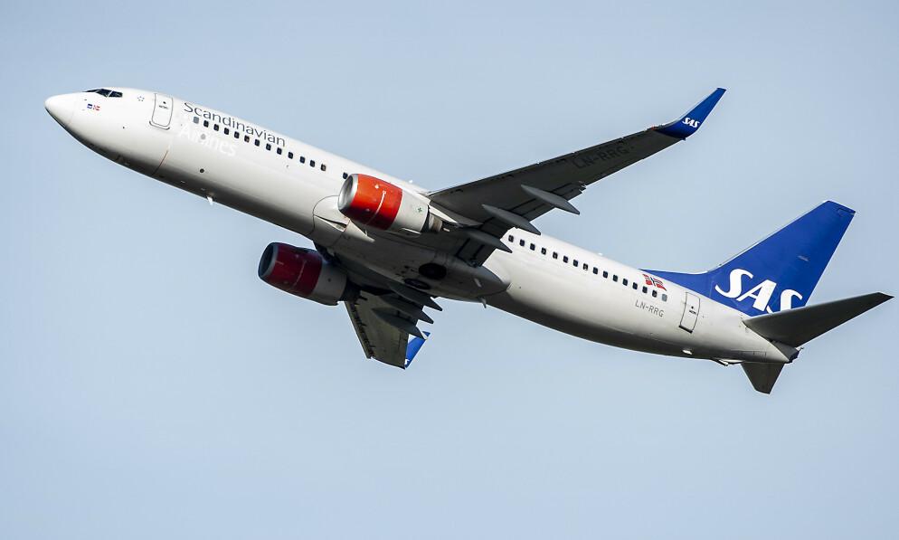 NYE KRAV: SAS har innført nye smittevernrutiner om bord i sine fly. Illustrasjonsfoto: Hans A. Vedlog / Dagbladet