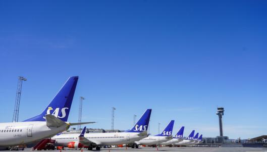 SAS-passasjerer må bruke munnbind