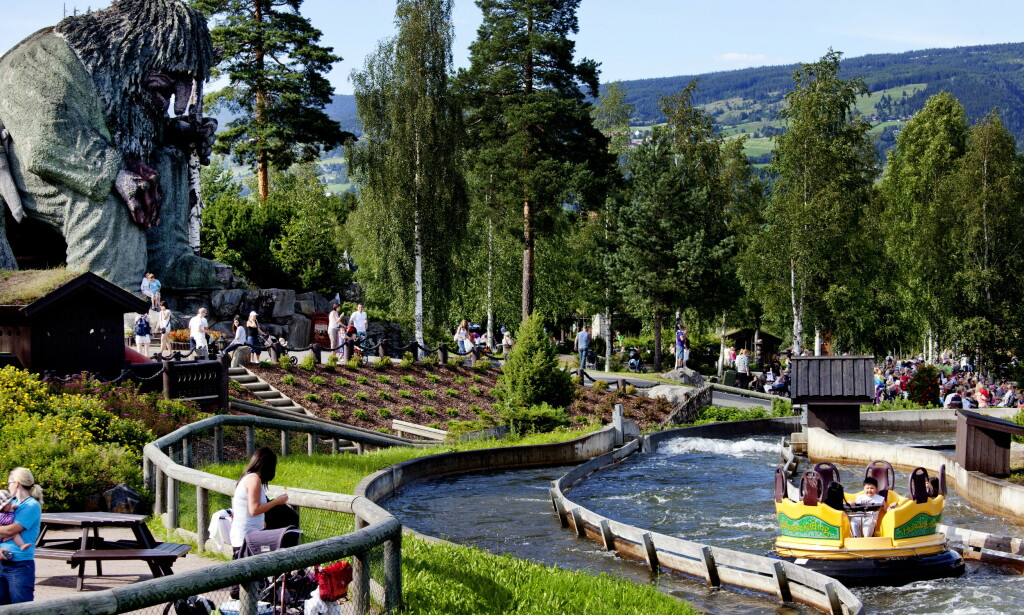 NEDRINGT: Sjefen for Hunderfossen Eventyrpark forteller om en eksplosjon i bookinger den siste uka. Foto: Sveinung U. Ystad / Dagbladet