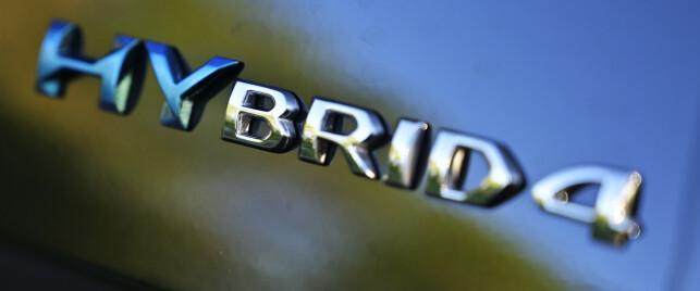 HYBRID: Hybrid er ikke nytt for Peugeot, men dette er kanskje den mest spennende hittil. Foto: Rune M. Nesheim