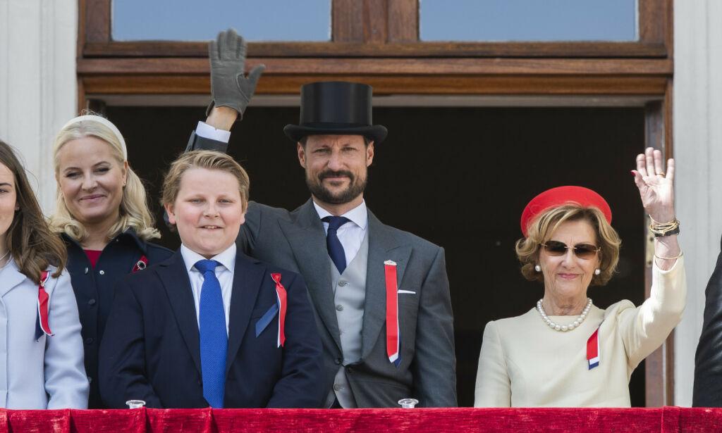 image: Det blir 17. mai-arrangement på Slottsplassen likevel
