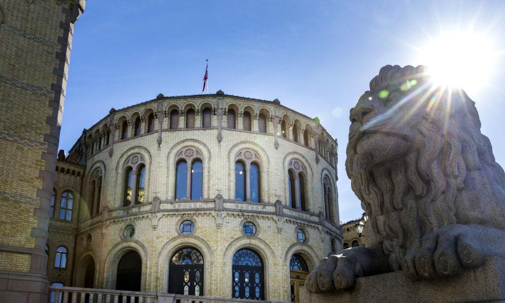image: Stortinget endrer litt i Grunnloven