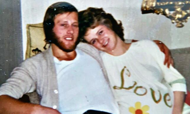 FINT EKTESKAP: Ifølge venner var ekteskapet mellom Tom og Lisbeth fint de siste åra. Foto: Privat
