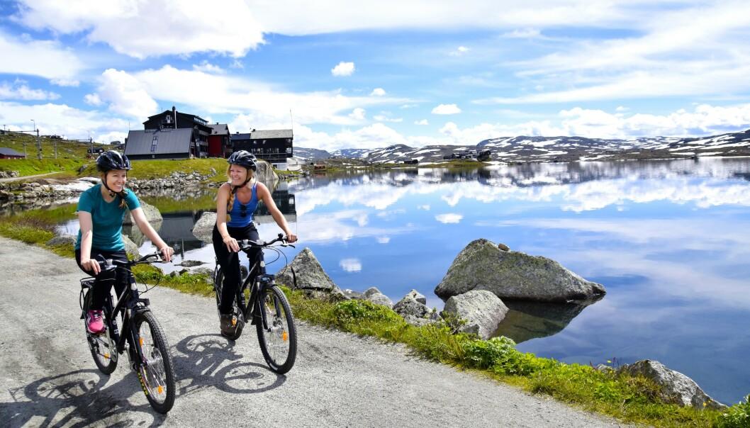 NASJONALROMANTIKK: Rallarvegen er 80 kilometer lang og strekker seg fra Haugastøl til Finse, videre til Myrdal og Flåm. FOTO: Mari Bareksten