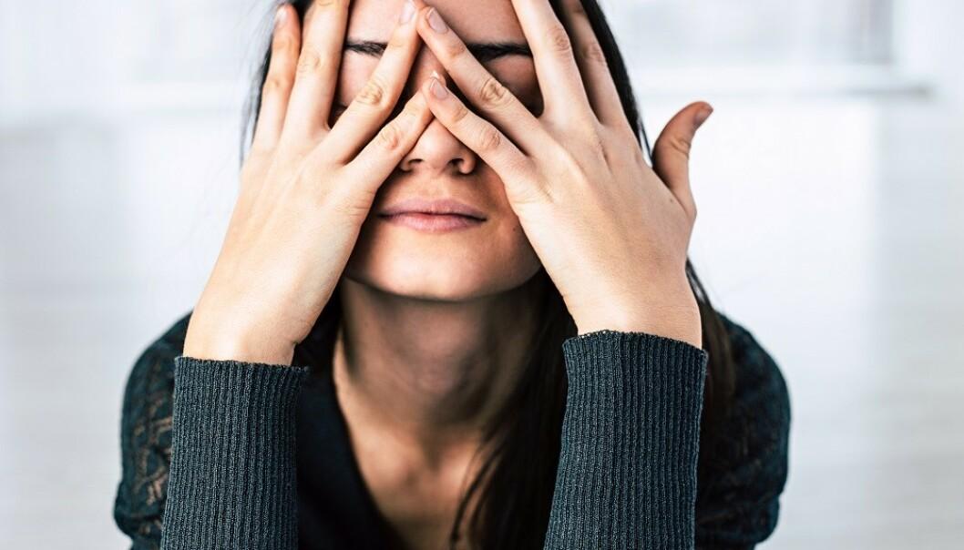 HØYT STRESSNIVÅ: Opplever du mye stress og angst, kan det hende du biter tennene sammen uten å legge merke til det. FOTO: NTB Scanpix