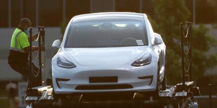 image: Tesla med kjempebyks, men må se seg slått