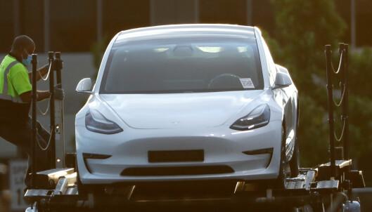 Tesla med kjempebyks, men må se seg slått