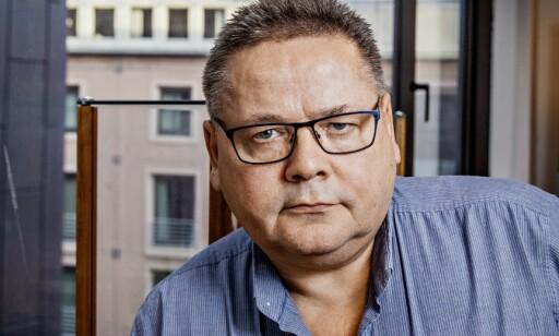 GLAD FOR KONTROLL: Johnny Hansen i Sjømannsforbundet er glad for at tilsynelatende ulovlige forhold ettergås. Foto: Jørn H. Moen / Dagbladet