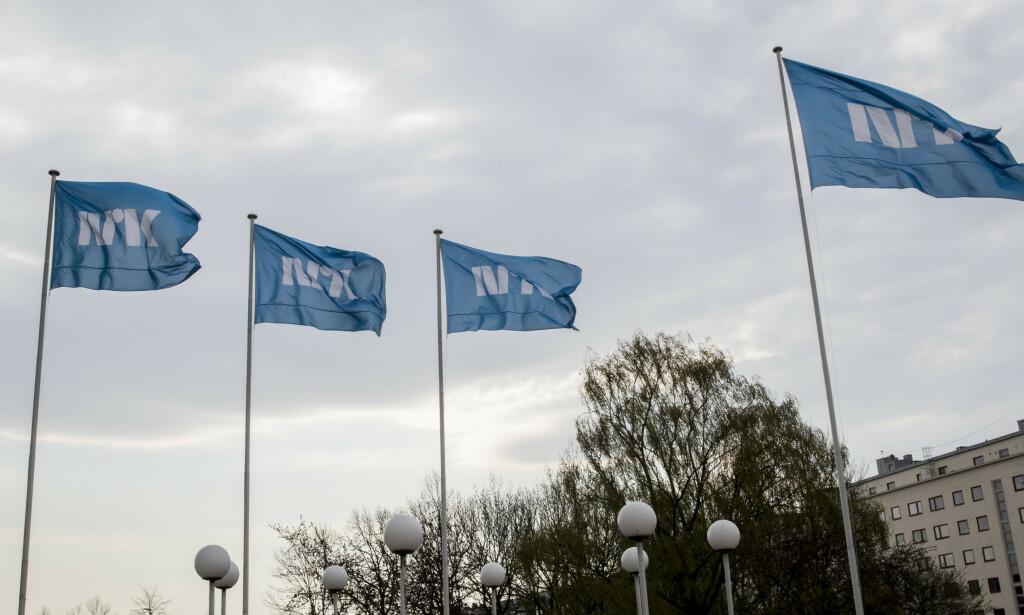 TILTALT: Voldshendelsen skal ha skjedd utenfor NRK-bygget i januar. Foto: Vidar Ruud / NTB scanpix