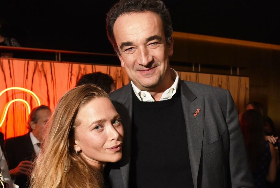 2017: Her er Mary-Kate Olsen og ektemannen Olivier Sarkozy avbildet for tre år siden. Foto: NTB Scanpix