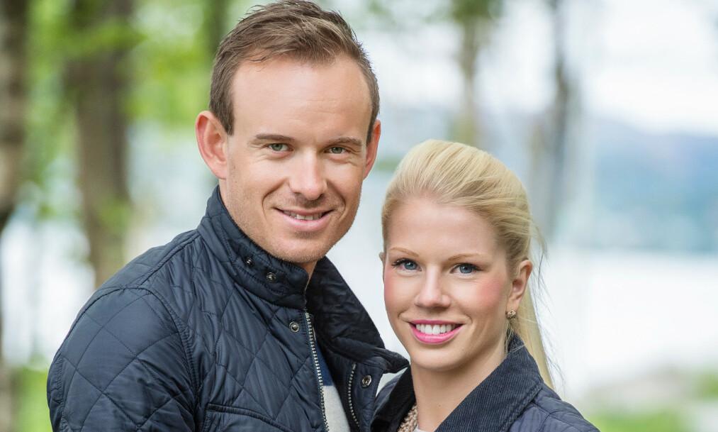 FIREBARNSFORELDRE: Onsdag kveld kom nyheten om at proffsyklisten Alexander Kristoff og kona Maren Kristoff har fått tvillinger. Her avbildet i 2017. Foto: Anders Martinsen